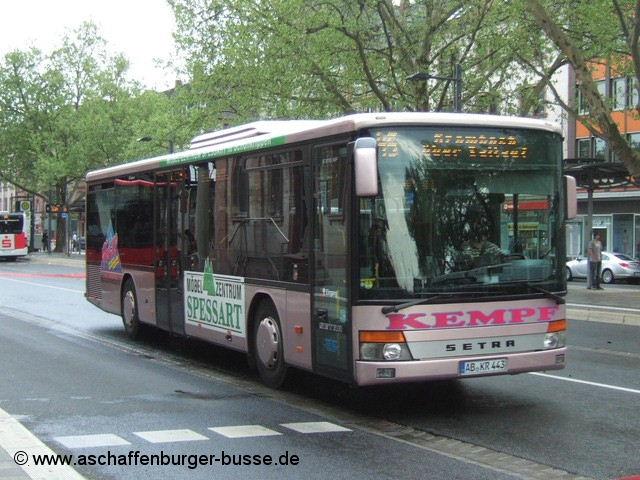 kempf ab kr 443 aschaffenburger busse. Black Bedroom Furniture Sets. Home Design Ideas